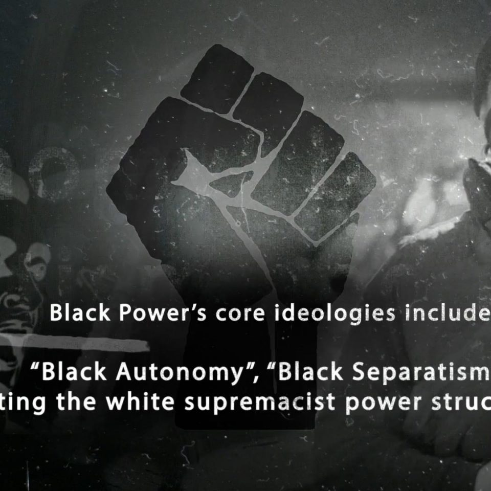 BBC3 'A Brief History of the Black Power Movement'